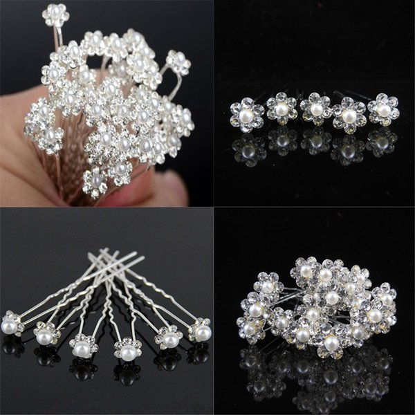 New Arrival Fashion Hair Accessories Party Wedding Hair Pins Flower Bridal Hairpins Bridesmaid Hair Clips For Women Barrettes Hairdressing