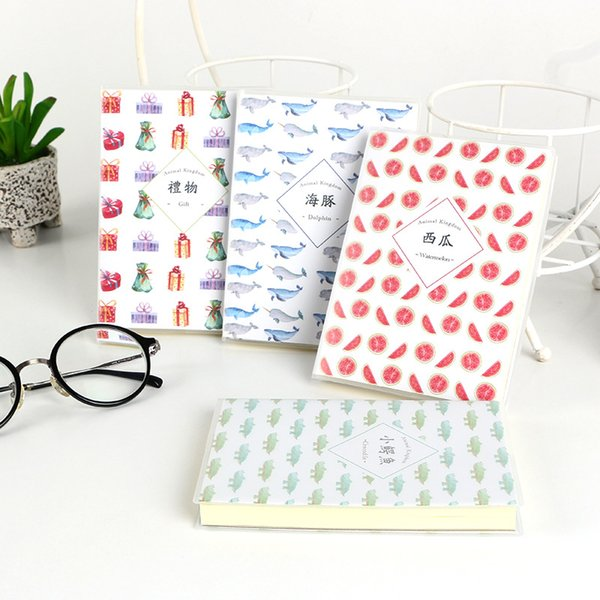 Creative Kawaii Notebook Diary Book Exercise Composition Binding Note Notepad Gift Student Stationery School Supplies