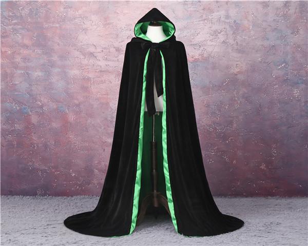 Черная + зеленая подкладка