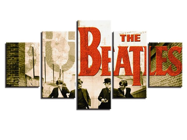 Wall Art Pictures Home Decoration Beatles band Singer Poster picture canvas prints for your bedroom decor