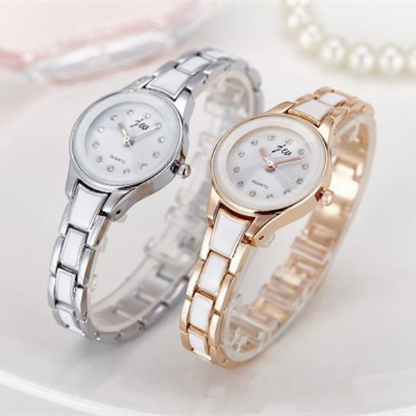 New Arrivaly JW Women Watches Alloy Crystal Designer Wristwatches Ladies Dress Watches Women Gift Gold Quartz Watch Female Clock JW5505