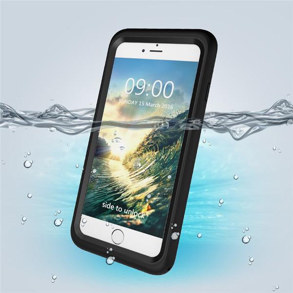 Full body waterproof dust-proof Anti-fall phone case Three defense For iphone 8 7 plus