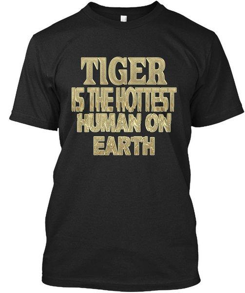 Tiger Hottest / Sensationnel T-shirt Élégant T Shirt Para Hombre Crazy Short Sleeve Crewneck Cotton Plus Size Tshirts para hombre