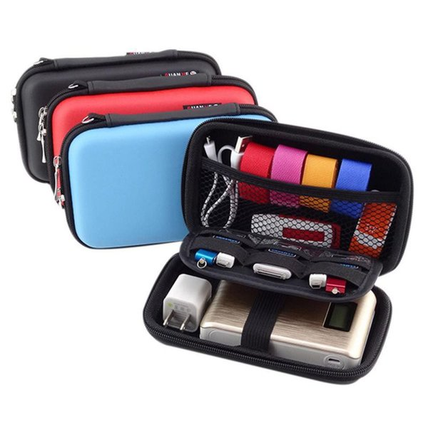 Portable for Mini Digital Products Pouch Travel Storage Bag for HDD, U Disk, USB Flash Drive, Earphone, Data Cable, Bank Card