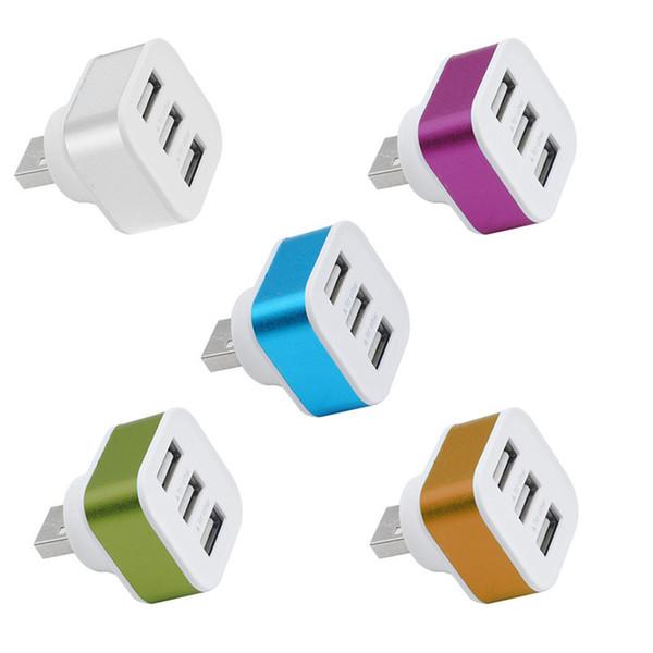 Tek USB Usb 3 Portları Splitter Hub usb şarj adaptörü Için cep telefonu Için PC Masaüstü Dizüstü