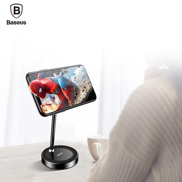 wholesale Magnetic Phone Holder for iPhone Xiaomi Tablet Desktop Stand 360 Mobile Phone Grip For Desk Office Lazy Magnet Bracket
