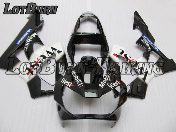 Juego de carenado de plástico adecuado para Honda CBR900RR CBR 900 RR 929 2000 2001 00 01 Conjunto de carenados hechos a medida de la motocicleta carrocería B87