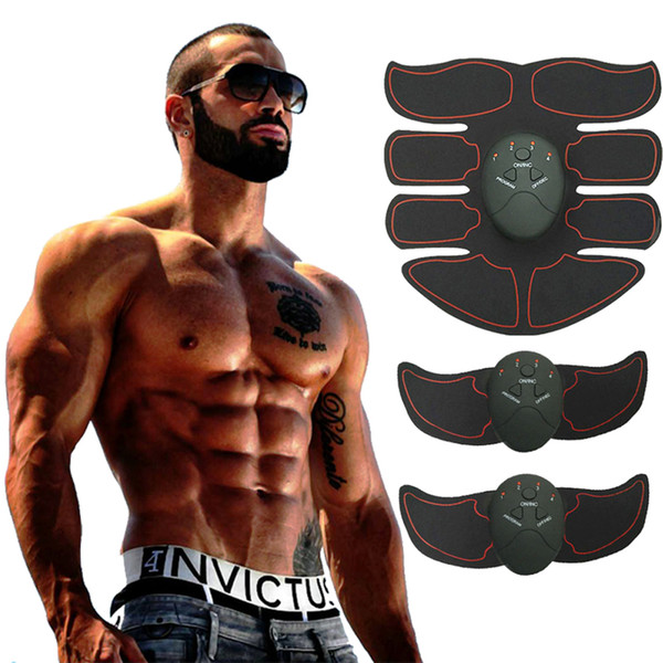 best selling Muscle Stimulator Body Slimming Shaper Machine Abdominal Muscle Exerciser Training Fat Burning Body Building Fitness Massager