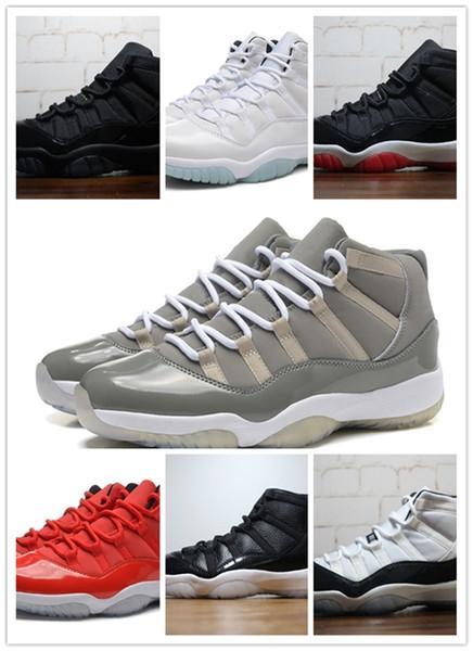2018 New 11 high quality bred Basketball Shoes Men Women High Cut Cheap Online 11S XI Hot Sale Sports Shoes