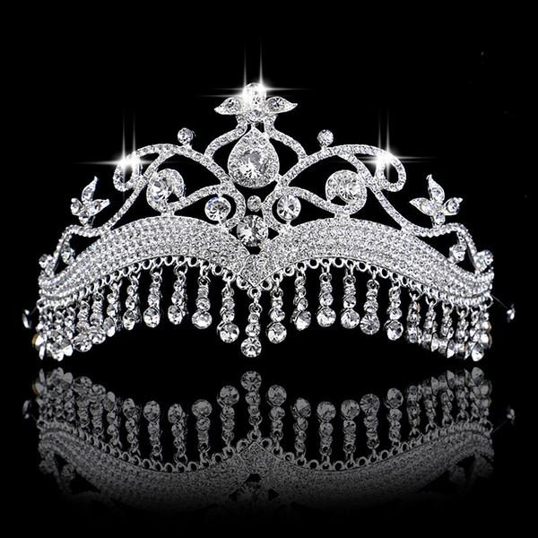 New Luxurious Headpiece Wedding Hair Accessories Special Occasion Headbands Bridal Headband Tiara Headwear Bridal Crown Headband