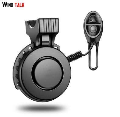Wind Talk 3 Sound Modes USB Rechargeable Mini Bicycle Bell Electric Waterproof 120db Cycling Bike Horn Ring For Mtb Road Bike
