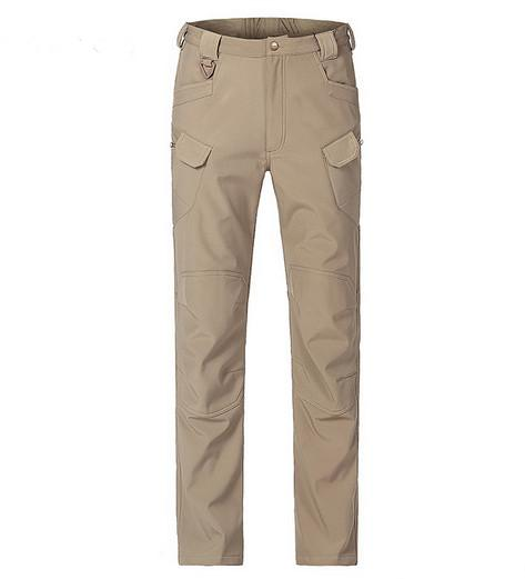 IX7 military Archon shark skin soft shell and flannelette trousers for cold and waterproof trousers men's trousers and trousers.