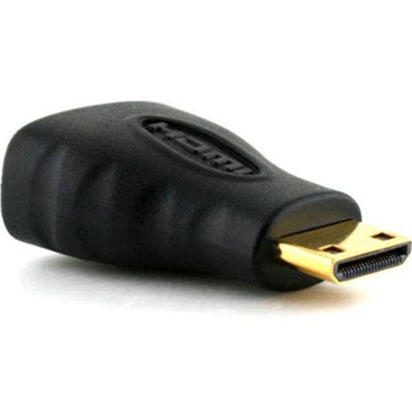 Adaptör Konnektörü (AHM2-MN1) 8171 Mini HDMI (Tip C) Erkek - HDMI (Tip A) Bayan Toptancı