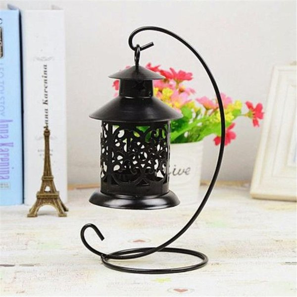 New Designer Wedding Ceremony Candlestick Ornament Hollow Arts And Crafts Iron Candle Holder Birthday Gift Decor Hot Sale 6 8fx aa