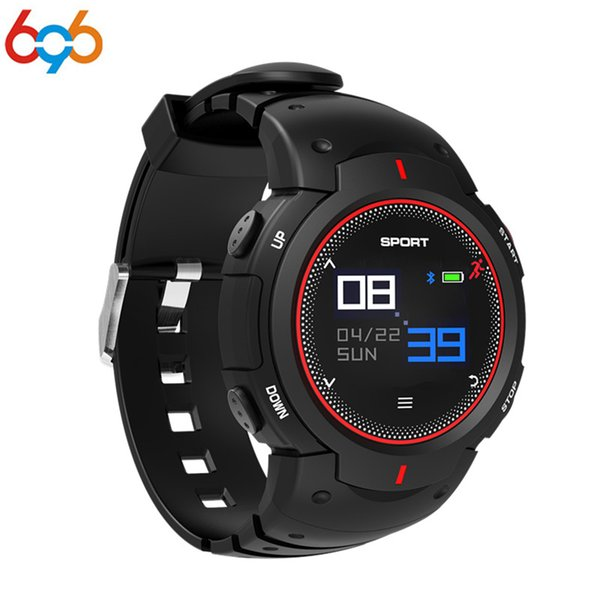 696 F13 Smart Watch Large Curved Color Screen Waterproof Long Standby Heart Rate Monitoring Watch PK F6 kw88