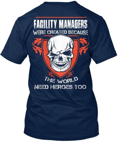 T-shirt standard unisex per gestori di strutture (S-5XL)