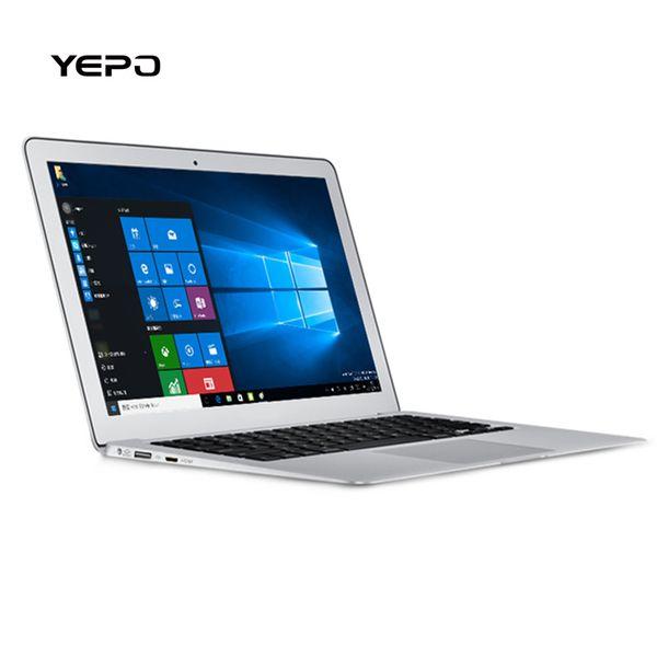 YEPO 737T WIFI Laptop Windows 10 Bluetooth 14Inch Intel Baytrail Z8350 16:9 Quad-core 2G RAM 32GB ROM Camera USB3.0 Notebook
