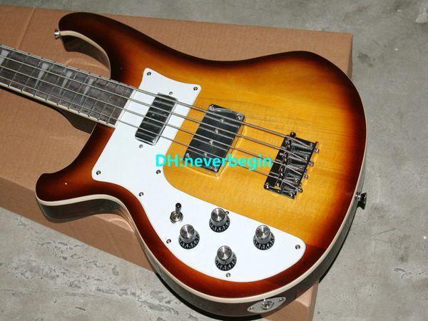 Wholesale New Best Quality Left Handed 4 string 4003 Cherry sunburst electric bass guitar