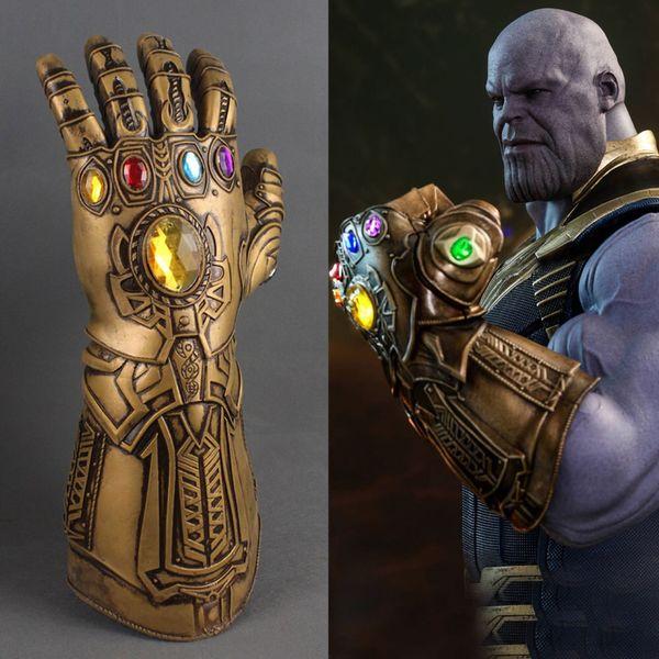Guanti Avengers 3 Infinity War Thanos Bambini adulti Halloween Supereroi cosplay lattice Infinity Gauntlet Giocattoli Rifornimenti del partito AAA480