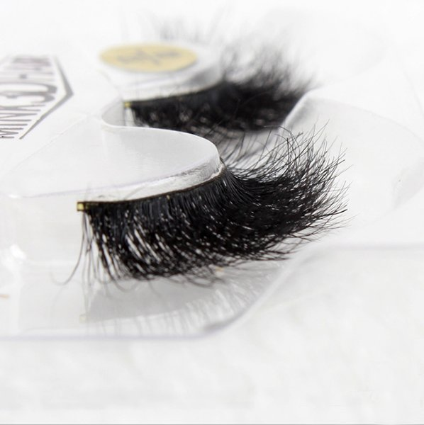 Handmade MESSY MINK Hair Upper Eyelash Natural False Eyelashes Thick Makeup Real 3d Mink Lashes Soft Eyelash extension fake eye lashes long
