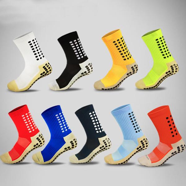 Erwachsene Anti-Slip Fußball Socken dickes Handtuch Baumwolle Sport Fußball Socken für Männer Größe 38-44