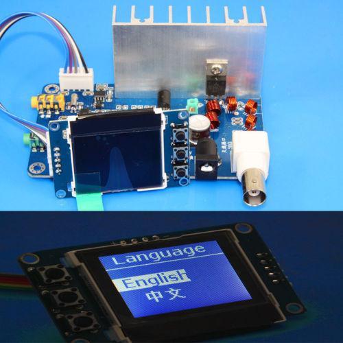 Montiert 12 V 7 Watt PLL Stereo FM Frequenzmodulation Sender 76 Mhz zu 108 MHz Digital LED Radio Statio