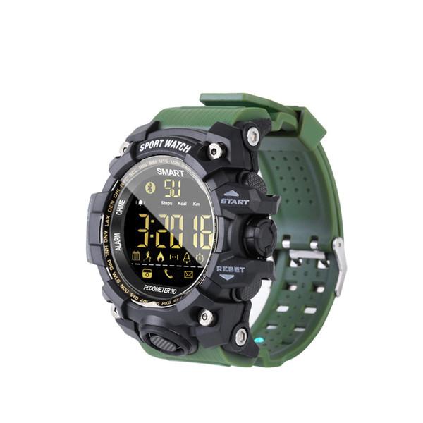 EX16S montre intelligente montre de camouflage Montre Bluetooth IP67 étanche à distance caméra Fitness Tracker Wearable Running montre-bracelet 2018