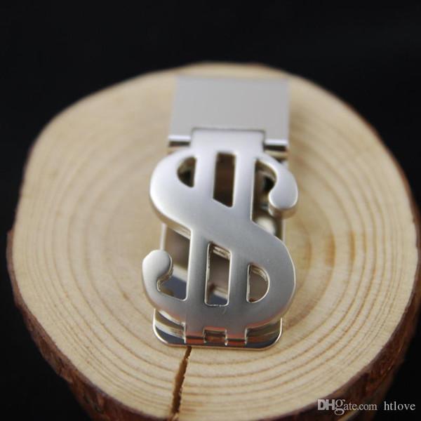 Edelstahl-Geldscheinklammer-Kreditkarte-Geldbörsen-Geldscheinklammer, Metall Brieftasche Bargeld-Klipp-Klemmhalter Brieftasche