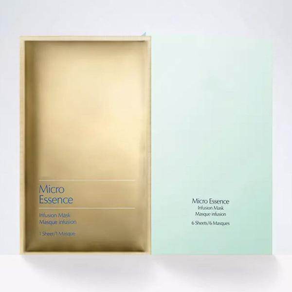 Luxury Brand Micro Essence infusion face Mask Moisturizing Facial Mask 6 pcs Set