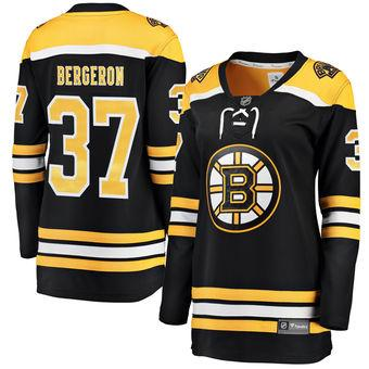 2018 nhl hockey jerseys cheap custom Womens Boston Bruins Fanatics Branded  Black Home Breakaway Custom Jersey b1fdfc6b8f