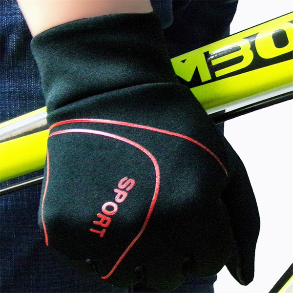 Unisex Outdoor Gloves in Autumn and Winter Plus Velvet Thickening Non-slip Hiking Leisure Riding Sports Touch Screen Gloves