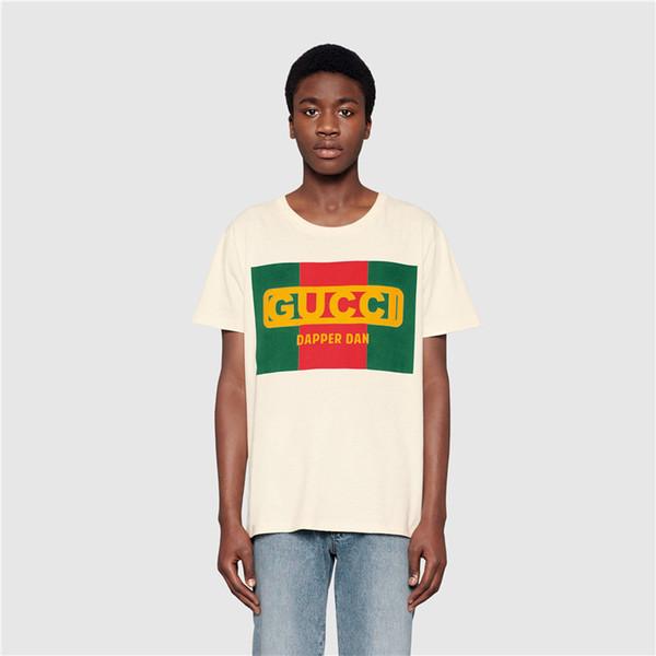 Herrenmode Kleidung Sommer Designer T Shirts Mens Tees Luxus Tops Marke Brief Muster Kurzarm T-shirt Lässige Tees für Paar M-3XL