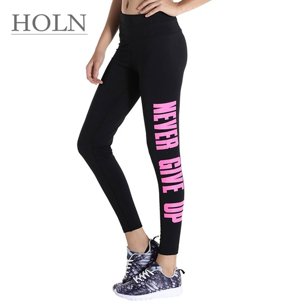 HOLN Yoga pants, summer women sports, fitness, running, high-waisted, tight, high-waisted, breathable, nine-cent pants