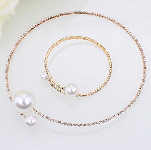 Armband Halskette Gold