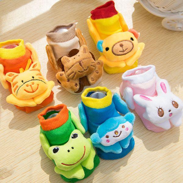Child Floor Sock 3D Cartoon Anti Slip Kids Short Winter Indoor Socks Lovely Cotton Infant Sock Boy Girl Product Baby Accessories