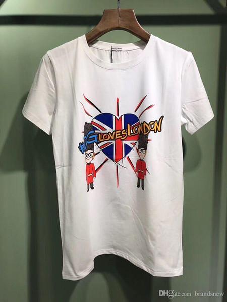 2018 Spring Summer best fashion Brand for men T-shirt Designer brand cartoon dog G tshirt women Tees Casual cotton Top 11