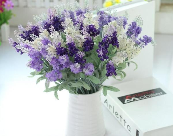 Compre Arreglo Floral De La Boda Del Hogar De La Lavanda De La Simulación De Provence 10 Arreglos Florales De La Boda A 071 Del Thanks8849