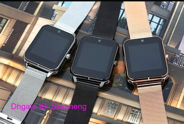 5Pcs Start Bluetooth Smart Watch Z50 2G Internet NFC Support SIM TF Card Wearable Devices SmartWatch For Apple Android Phone T30