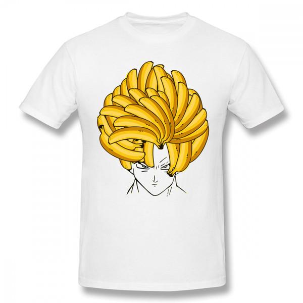 Dragon Ball Super Saiyan T Shirt Man Cute Banana Hair Goku T Shirt Boy Latest Custom For Boy Top Tees