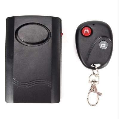 Système sans fil universel Capteur Alarme Détecteur Verrouillage Moto Vélo Alarme Horloge 2 Télécommande Protection contre Le Vol 120db