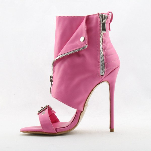Talon Talon Marque Du Gladiateur Wrap Open Boucle Mince 47 Toe Fashion Rose De96 Design Bottines Cheville Or Blanc Zipper Bottes Acheter Haut UGpqSMzV