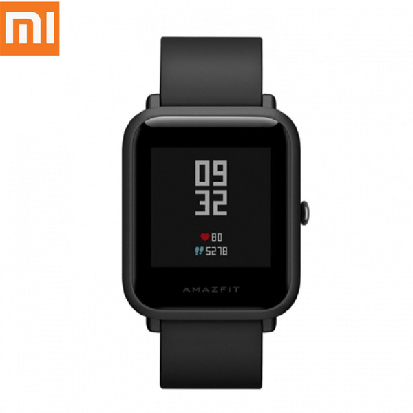 Original Xiaomi Huami Amazfit Smart Watch GPS Heart Rate Fitness Tracker Bip BIT PACE Lite Waterproof Pedometer English Version