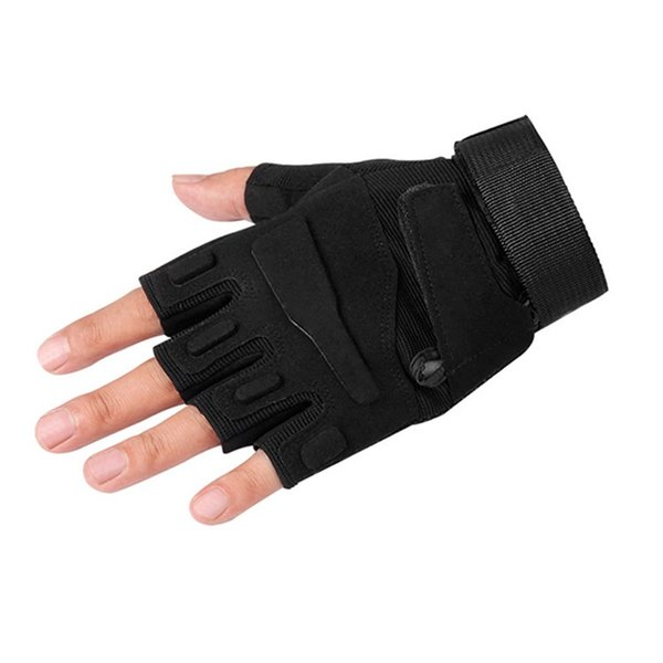 Gym Training Gloves Half Finger Outdoor Ventilation Wind Proof Sports Glove Shock Absorption Wear Resisting Bike Parts 20sf jj
