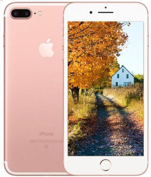 Original Apple iPhone 7 plus iOS Quad Core A10 Mobile Phone 3GB RAM 32GB 128GB 256GB ROM Dual 12.0MP LTE refurbished phone