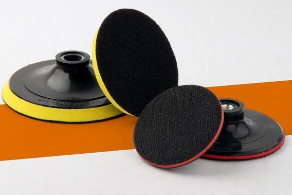 best selling 100PCS 100mm 125mm Angle Grinder Sander Polishing Buffing Bonnet Polisher Buffer Polishing Disk Grinding and Polishing Sucker Self-adhesive