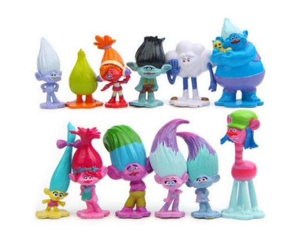 Großhandel Dreamworks Troll Dolls 12 Stück Mini Figuren 3 6 Cm Tall Kuchendeckel Dekofiguren Fast Ship By Dhl Von Flysky2018 503 Auf Dedhgatecom