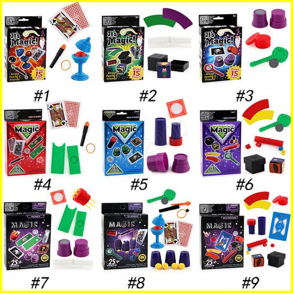 9 Design Magic props Playing Poker Cards Table Game Standard Edition magic prop Fun Entermainment Board Game Kids toys High Quality toys