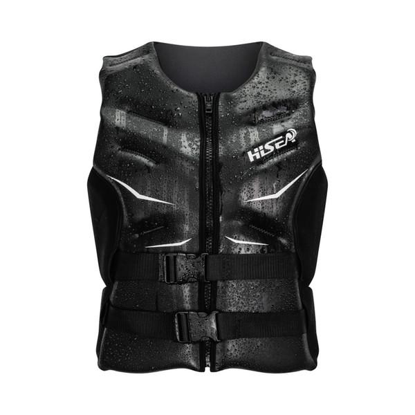 HISEA Oversized Buoyancy Windproof Fly Fishing Glideskin Life Vest Clothing Vest Detachable Breathable Life Jacket Aid Sailing