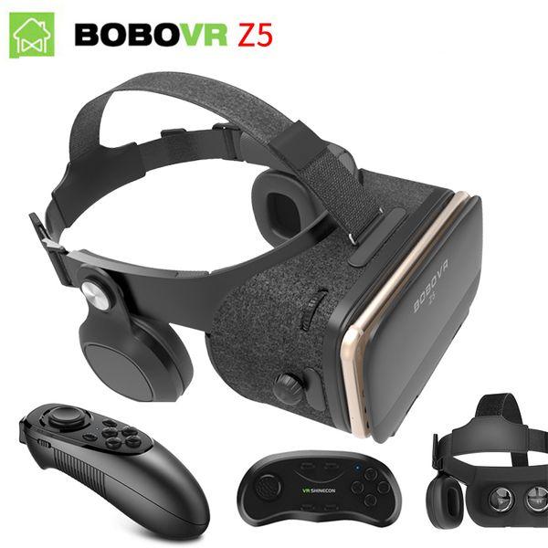 Original Bobovr Z4 Update Z5 Vr 3d Box Helmet Virtual Reality Glasses Smartphone Vr Headset For Android 4 7 6 2 In Mobile Phone Diy 3d Glasses