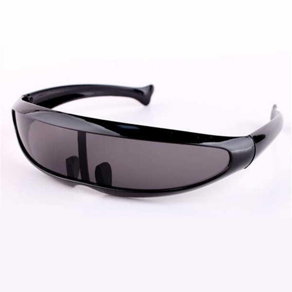 RILIXES Men's Sunglasses X-Men Personality Laser Glasses Cool Robots Sun Glasses Driving Sunglass Goggles free bag